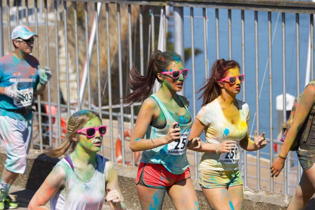 colour run, rainbow run, run, partnerships, loyalty, marketing